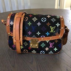 Authentic Louis Vuitton Sologne Shoulder Bag.